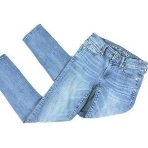 American Eagle Jeans 0 Short Super Stretch Skinny